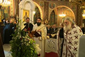 Στιγμές από την αγρυπνία στο ιερό προσκύνημα Αναστάσεως Χριστού στα Σπάτα