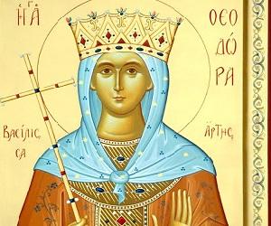 Οσία Θεοδώρα, βασίλισσα της Ηπείρου