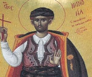 Ο Άγιος Νεομάρτυρας Μανουήλ από την Κρήτη