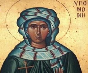 Η Αγία Υπομονή († 13 Μαρτίου 1450)