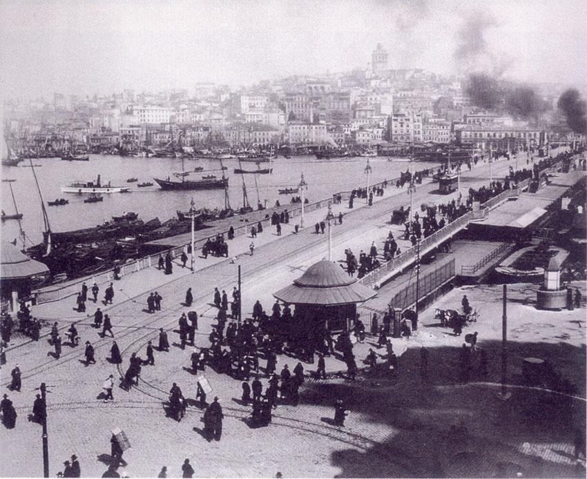 Σκηνές από την καθημερινή ζωή της Κωνσταντινούπολης