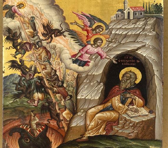 Αποτέλεσμα εικόνας για αγιος ιωαννης της κλιμακος
