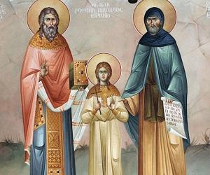 Οι άγιοι νεοφανείς και νεομάρτυρες Ραφαήλ, Νικόλαος και Ειρήνη