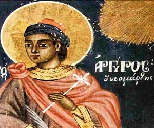 Ο Νεομάρτυς άγιος Αργύριος ο Επανωμίτης