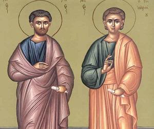 Ο άγιος Απόστολος Κάρπος