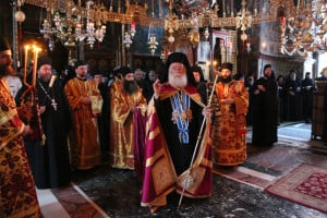 Στιγμές από την πανήγυρη του αγίου Γερασίμου στη Μονή Βατοπεδίου