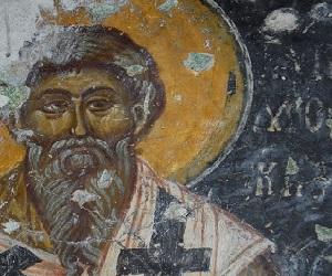 Ο άγιος Ιερομάρτυρας Κύριλλος, Επίσκοπος Γορτύνης