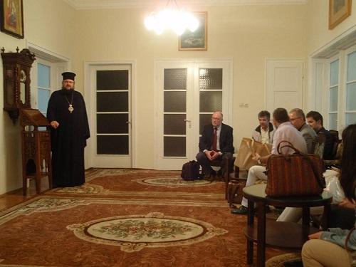 Από την επίσκεψη στο Πατριαρχείο Βουλγαρίας