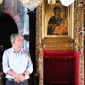 Ο Υπουργός Παιδείας και Πολιτισμού της Κύπρου στο Άγιον Όρος