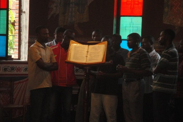 Διδάσκοντας Βυζαντινή Μουσική μέσα στην καρδιά της Αφρικής