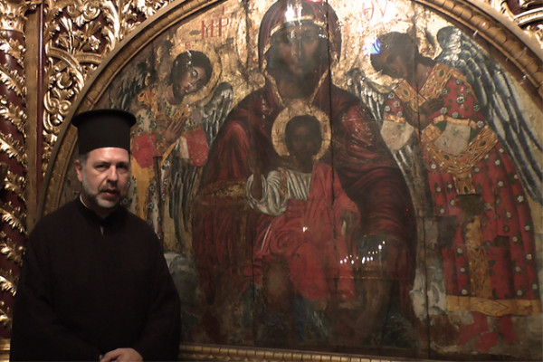 Η θαυματουργός εικόνα της Παναγίας Καθολικής Ρόδου