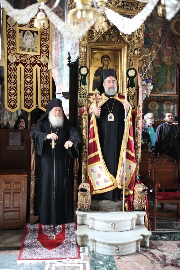 Προεόρτια της Αγίας Ζώνης στην Ιερά Μονή Βατοπαιδίου