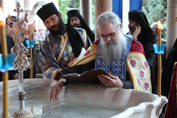 Πανήγυρις της Αγίας Ζώνης της Παναγίας στην Ιερα Μονή Βατοπαιδίου 2014