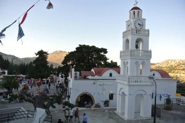 Η πανήγυρις της Παναγίας Τσαμπίκας στη Ρόδο
