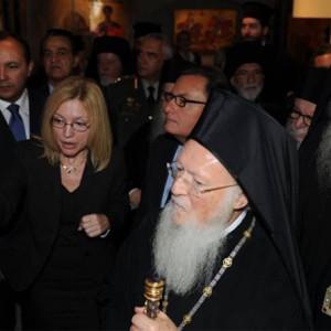Ο Οικουμενικός Πατριάρχης στο Μουσείο Βυζαντινού Πολιτισμού (18/10/2019)