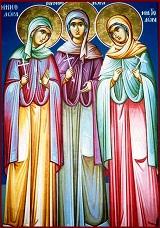 Αγίων Μαρτύρων γυναικών Μηνοδώρας, Μητροδώρας και Νυμφοδώρας