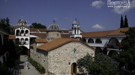 Ιερά Μονή Οσίου Δαυίδ Γέροντος (Ευβοίας)