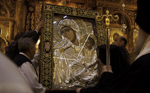Η Παναγία Παραμυθία στον Ι.Ν. Αγίου Δημητρίου Αττικής