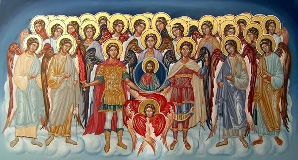 Αποτέλεσμα εικόνας για οι άγιοι άγγελοι
