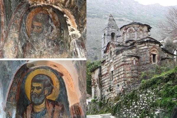 Η αποκατάσταση ενός Ιερού Ναού: Άγ. Πέτρος στην Καστάνια της Μάνης