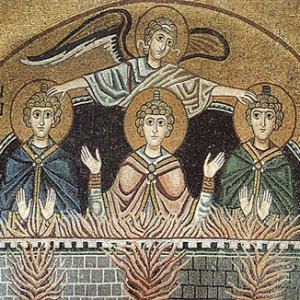 Τρία παιδιά στο καμίνι του βασιλιά