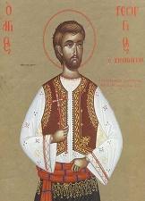 Ο Άγιος Νεομάρτυς Γεώργιος ο Χιοπολίτης