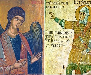 Ο Aρχιστράτηγος Μιχαήλ και ο Ιησούς του Ναυή