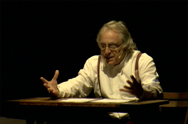«Αποκάλυψη του Ιωάννη». Μια παράσταση του Νίκου Παπακώστα. Μέρος1/6. Κεφάλαια 1-4. Θέατρο Σαν Μισέλ στις Βρυξέλλες