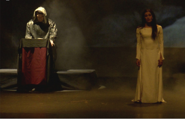 """""""Αποκάλυψη του Ιωάννη"""". Μια παράσταση του Νίκου Παπακώστα. Μέρος 3/6. Κεφάλαια 9-12. Θέατρο Σαν Μισέλ στις Βρυξέλλες"""