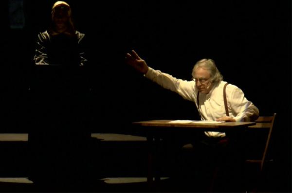 """""""Αποκάλυψη του Ιωάννη"""". Μια παράσταση του Νίκου Παπακώστα. Μέρος 4/6. Κεφάλαια 13-17. Θέατρο Σαν Μισέλ στις Βρυξέλλες"""