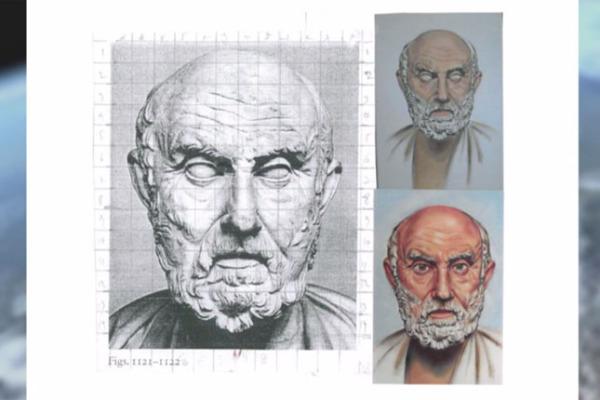 Δημιουργώντας τα πορτρέτα αρχαίων φιλοσόφων