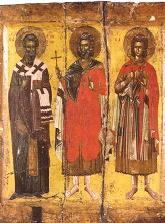 Οι άγιοι Μάρτυρες Μηνάς ο Καλλικέλαδος, Ερμογένης και Εύγραφος