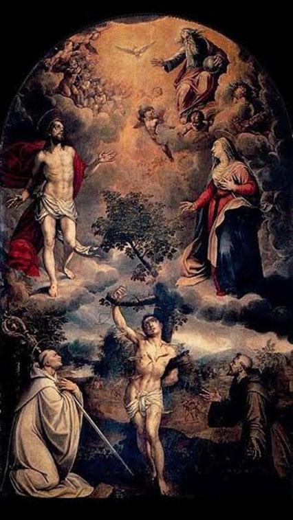 Εικονογραφία Αγίου Σεβαστιανού σε Ανατολή και Δύση