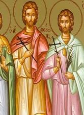 Άγιοι Μάρτυρες Φιλήμων και Απολλώνιος