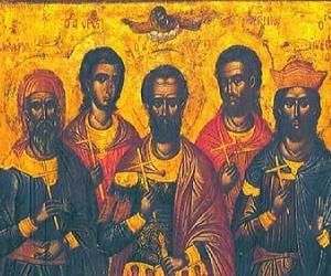 Οι άγιοι στέκονται δίπλα μας (Πέντε Μάρτυρες, † 13 Δεκεμβρίου)