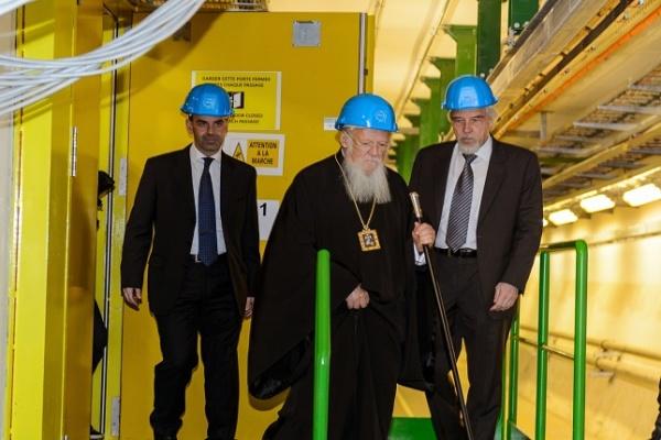 Η Α.Θ.Π., ο Οικουμενικός Πατριάρχης, στην καρδιά της σύγχρονης έρευνας (CERN)