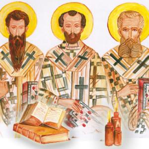 Οι τρεις Ιεράρχες (για παιδιά)