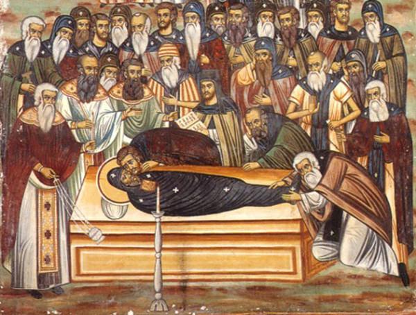 Απολυτίκια οσίου Εφραίμ του Σύρου (ηχογράφηση στο Βατοπαίδι)