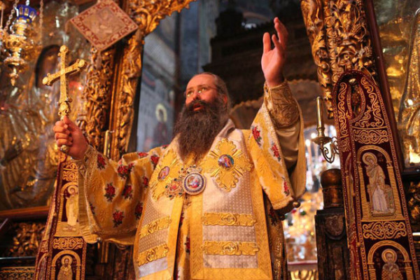 Ιερά Πανήγυρις του Ευαγγελισμού στο Βατοπαίδι