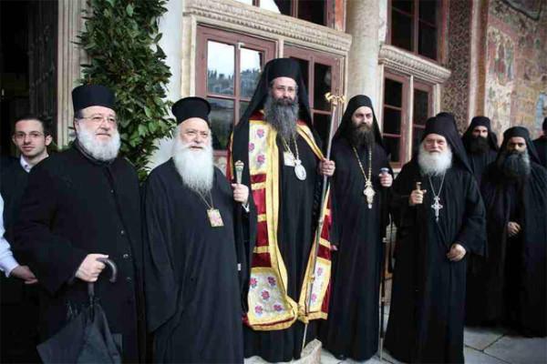 Εορτασμός του Ευαγγελισμού της Θεοτόκου στην Ιερά Μεγίστη Μονή Βατοπαιδίου (2015)
