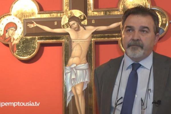 Κωνσταντίνος Ξενόπουλος: Η Σταύρωση και η Ανάσταση στην ορθόδοξη εικονογραφία