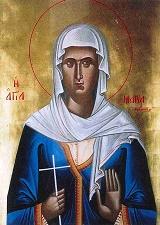 Η αγία νεομάρτυς Μαρία, η Μεθυμοπούλα