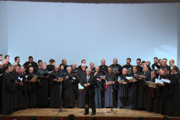 Επετειακή συνάντηση βυζαντινών χορωδιών-Χορός του Πανελληνίου Συνδέσμου Ιεροψαλτών