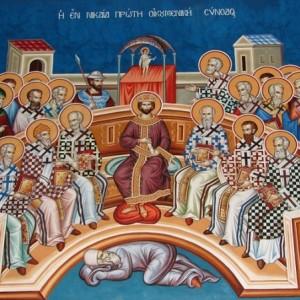 Με το σκοτάδι ή με το φως;  (Κυριακή των Αγίων Πατέρων Δ΄ Οικ. Συνόδου)