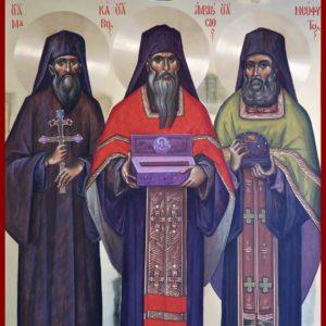 Οι ιερομάρτυρες Νεόφυτος & Αμβρόσιος και οι οσιομάρτυρες Μακάριος & Διονύσιος, οι εν Κρήτη μαρτυρήσαντες