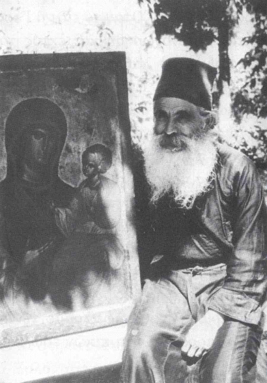 Μοναχός Θεοφύλακτος Νεοσκητιώτης, ο λάτρης της Παναγίας (φωτ. Γέροντας Ιγνατίου Νεοσκητιώτου)