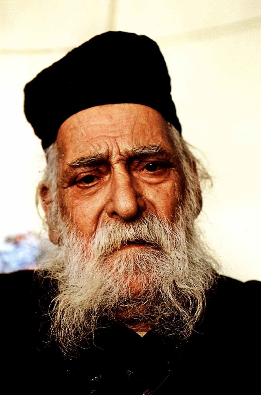Γέροντας Βαρλαάμ Νεοσκητιώτης († 1994) (φωτ. μοναχού Χαρίτωνος Καρουλιώτου) Πηγή φώτο: Μοναχού Χαρίτωνος – Monk Chariton, Ματιές στον Άθω – Images of Athos, Έκδοσις Γ΄, 2007.