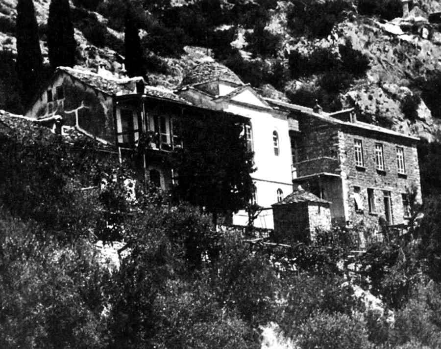 Καλύβη σκήτης Αγίου Βασιλείου (φωτ. 1941)