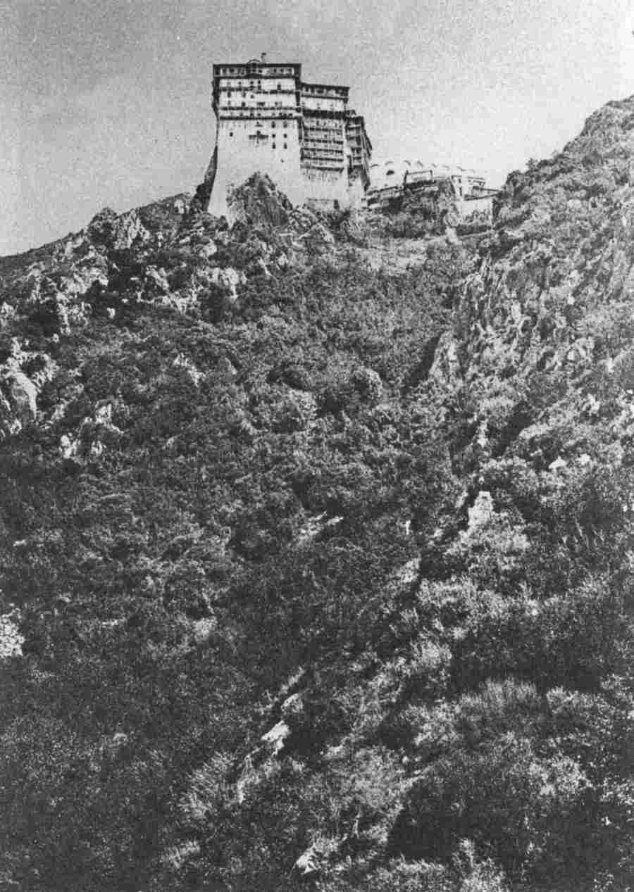 ερά μονή Σίμωνος Πέτρας (φωτ. 1870)