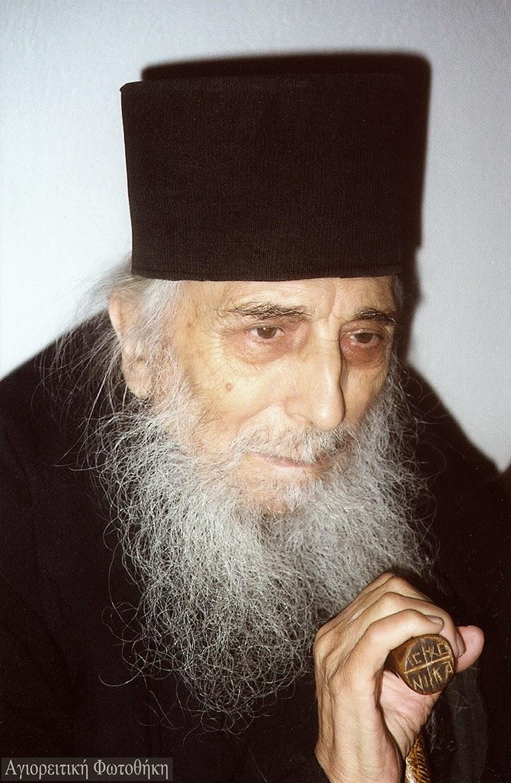 Σίμων ιερομόναχος Σιμωνοπετρίτης (1913-1998) -Πηγή: http://athosprosopography.blogspot.gr/2014/11/blog-post_16.html